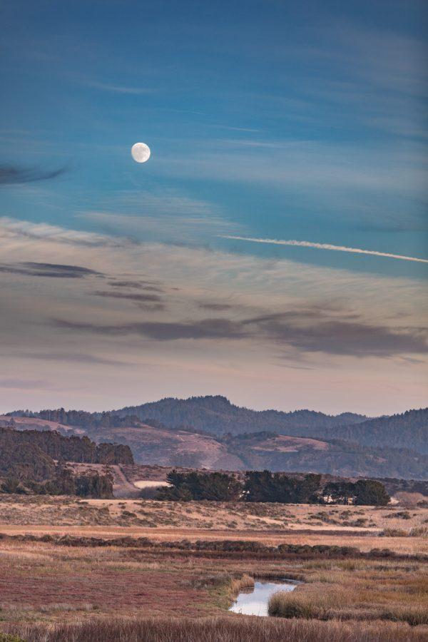 Moonrise Pescadero